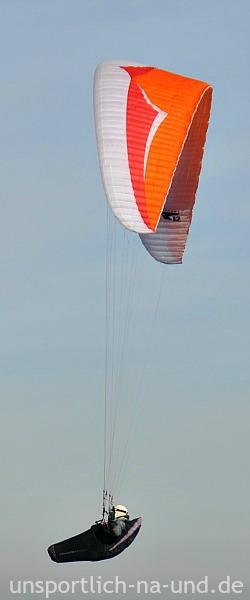 Paraglider am Uetliberg.