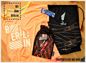 NIKE WOMEN'S 10 km BERLIN 2015 Goodie Bag