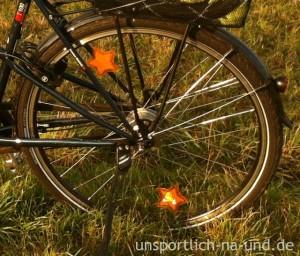 Sternchen-Speichenreflektoren