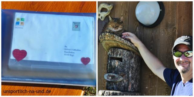 Letterbox-Geocache mit Schatz und Katz ;-)
