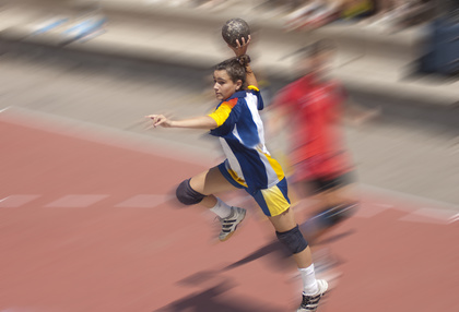 Beim Handball bin ich auch schon gescheitert. Foto: © carmeta - fotolia.de