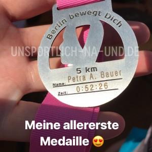 Avonlauf 2018 - Meine allererste Medaille